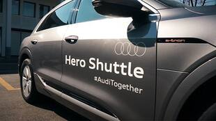 Driving Heroes Home. #AudiTogether<br>by Carlabelle