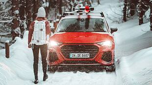 Audi RS Q3 - A Snowy First Drive