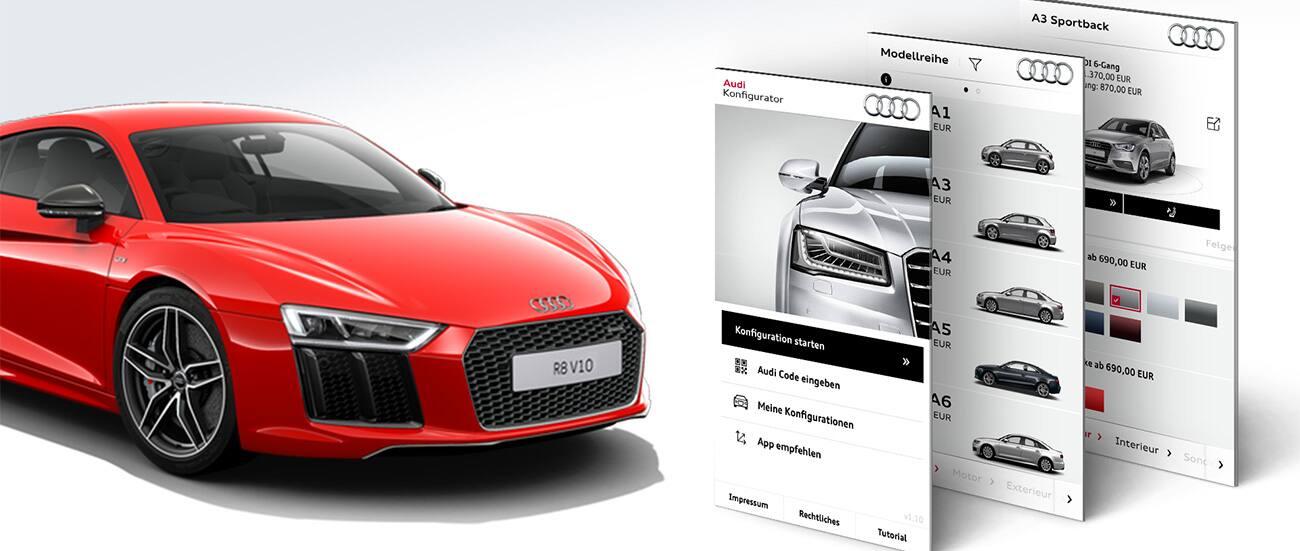 Audi Configurator Svizzera > Pool > Apps > Audi Svizzera