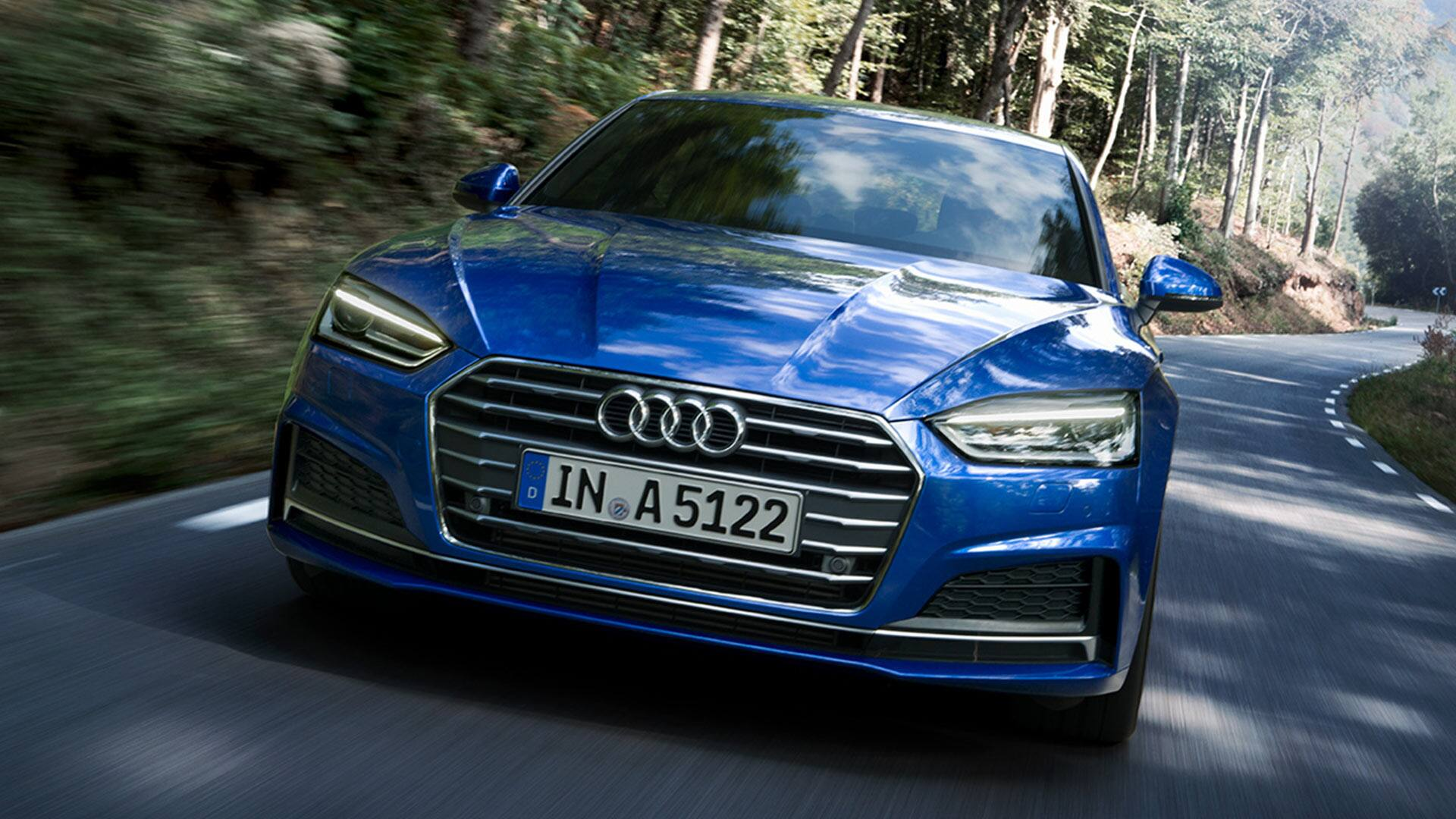 A5 Sportback g-tron in Frontansicht