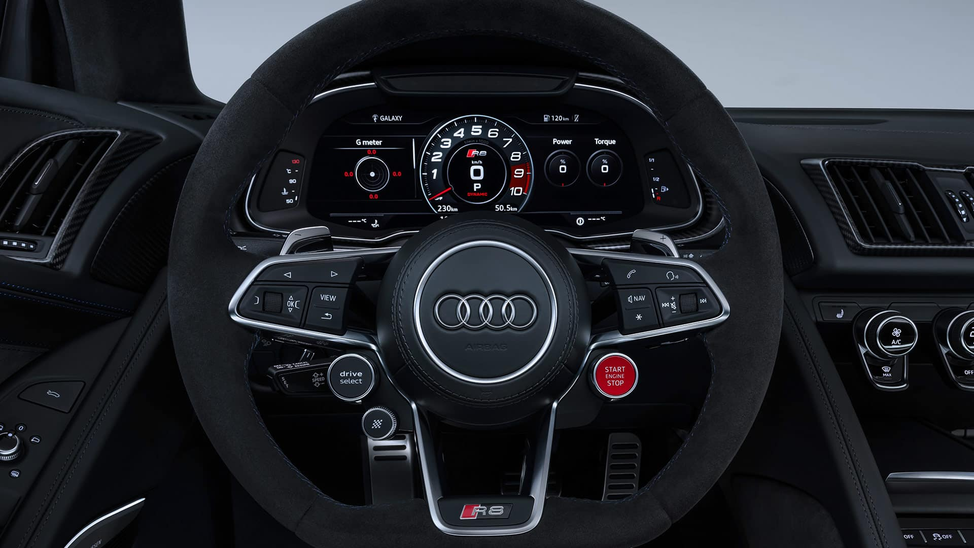 Audi virtual cockpit im Audi R8